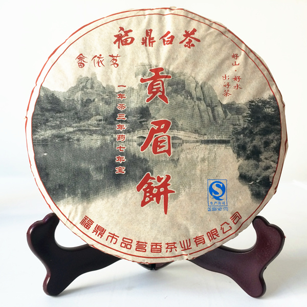 Authentic fuding white tea cake wild GongMei old life of eyebrow five old white tea aroma 350 g manufacturers wholesale