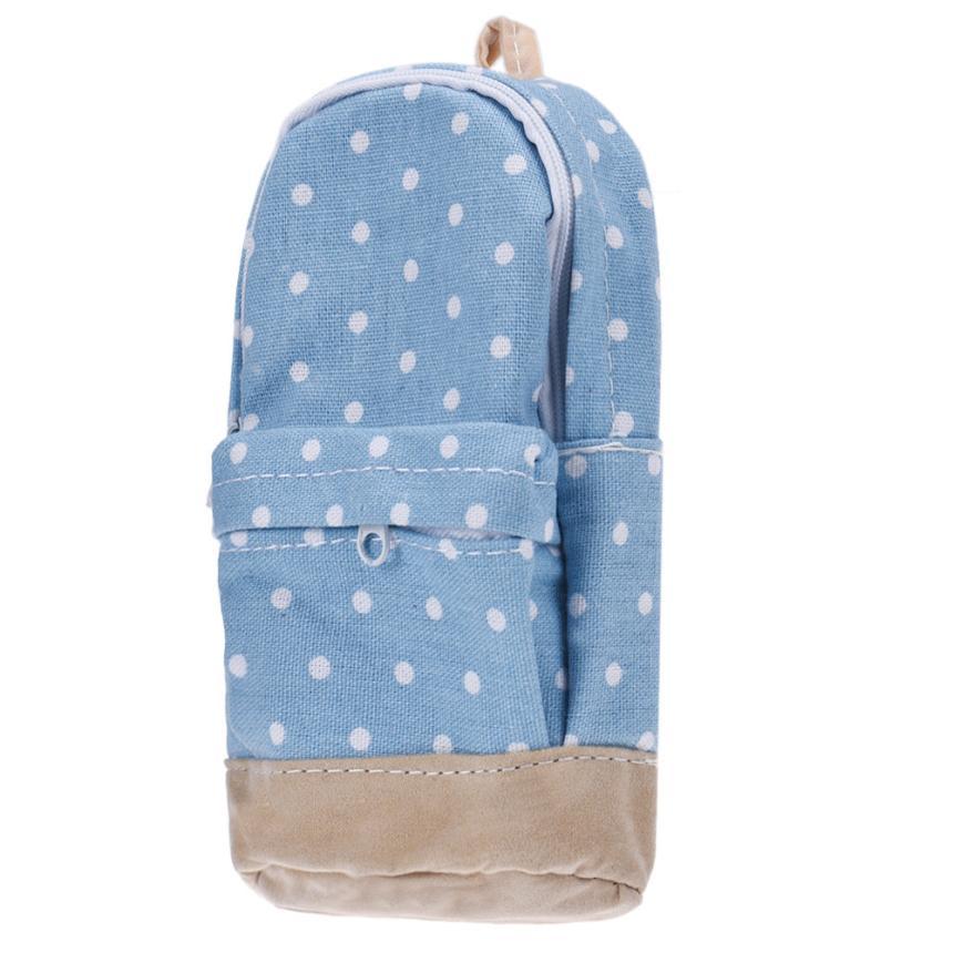 Hot Fashion  Small School bag Coin Purse Women Pen Case with Canvas Pencil Case Children Pen Bag purse money Gift Girls #YLSH<br><br>Aliexpress