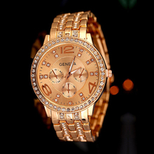 New Arrival Fashionable And Classic Diamond Stainless Steel Wrist Watch Gold Silver Rose Gold Color WH