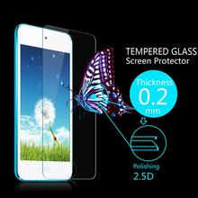 Ultra Thin 0.2mm Premium Explosion-Proof HD Clear Tempered Glass Screen Protector Film for ipod touch 5 touch5 +Retail Package