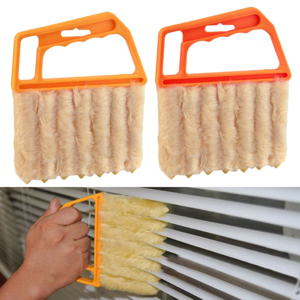 1pc Microfibre Venetian Blind Brush Window Air Conditioner Cleanning Duster Window Cleaner(China (Mainland))