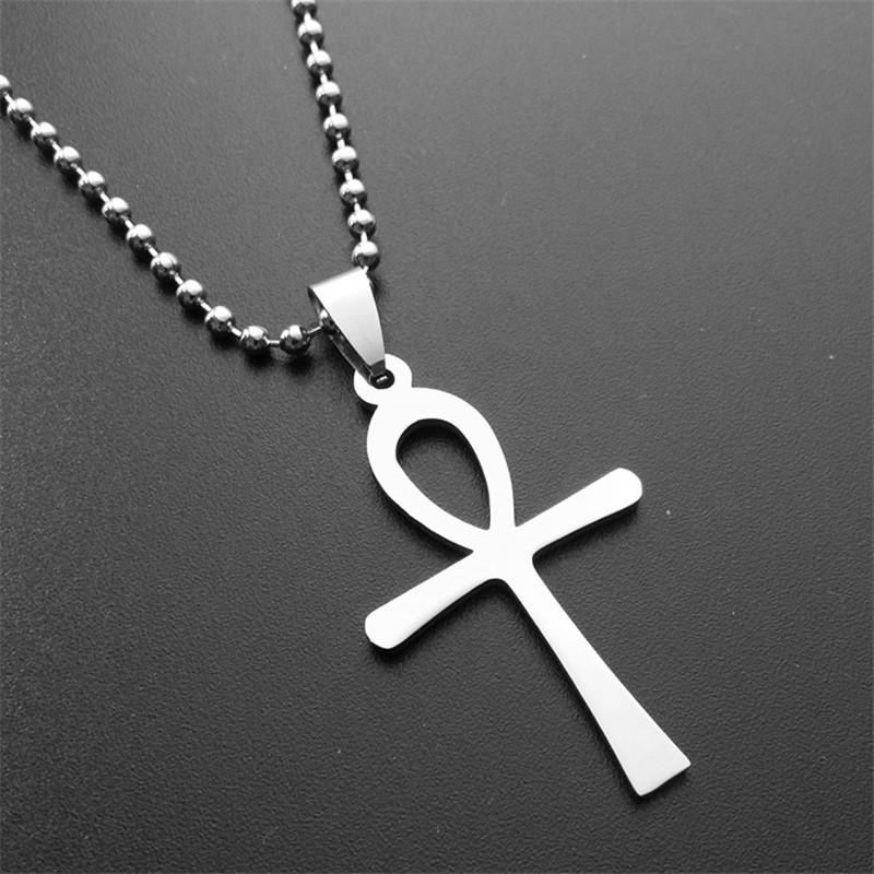 er vintage ankh pendant necklace cool cross