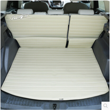 Automobile(3/p) Car seat back cushion car trunk mat leather trunk mat car accessories for FORD kuga(China (Mainland))