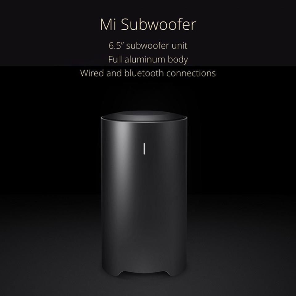 Original Xiaomi Mi Subwoofer Soundbar Sound Bar Box 6.5 subwoofer unit with full aluminum body construction For Xiaomi TV 3