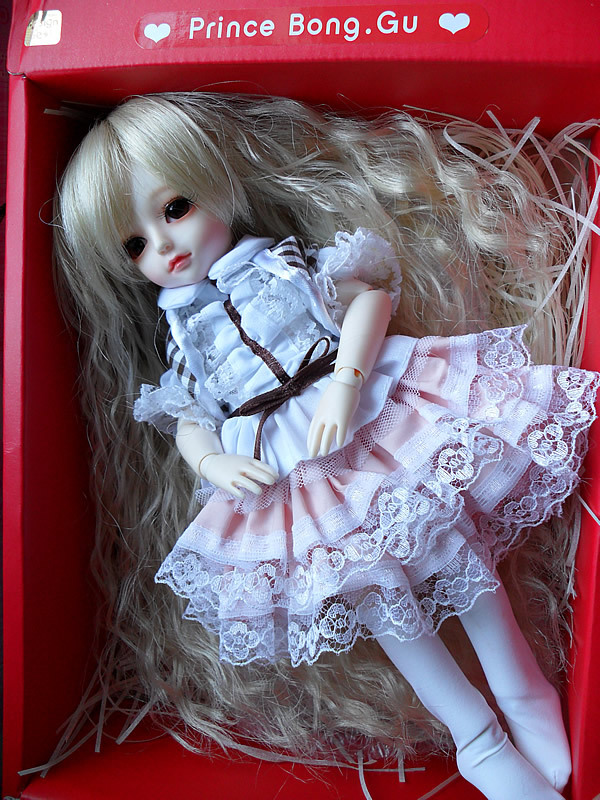Bjd 1/6 Doll SD Doll Volks Doll Prince Bong.Gu With Eyes & Eyelash(China (Mainland))