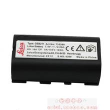 1pcs Top Quality LEICA GEB211 CH-9435 Heerbrugg Batteries 7.4V 2600mAh Li-ion GPS Rechargeable Battery For TPS1200 Free Shipping