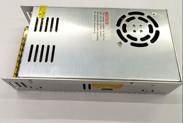 360W 12V30A Switching Power Supply, Adapter with fan for project Transformers in steel box good quality factory sell Free ship(China (Mainland))