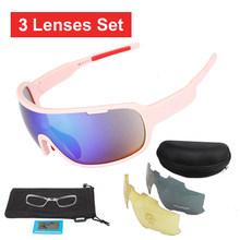 NEWBOLER 5 soczewki okulary rowerowe spolaryzowane mężczyźni kobiety UV400 okulary sportowe szosowe okulary gafas ciclismo dla rowerów lunettes(China)