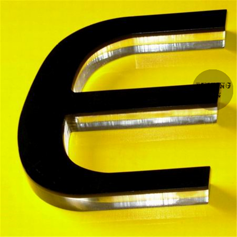 Aliexpresscom buy outdoor or indoor acrylic letters and for Exterior letters and numbers