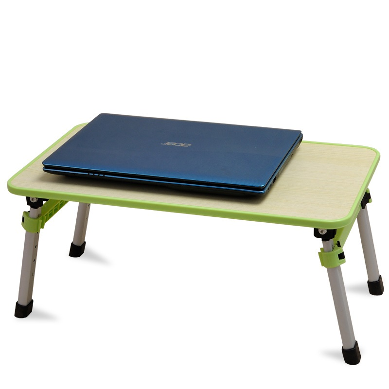 EC DAILY Caddy bed laptop desk laptop desk folding desk study table Landmark lifting small table free shipping FREE SHIPPING(China (Mainland))