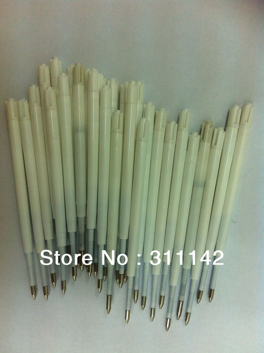 WHOLESALE Unique Syringe pens refills Black and Blue plastic Parker ink refill 1.0mm/0.7mm 5000pcs/lot Free Shipping(China (Mainland))