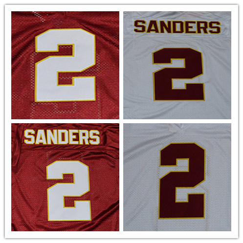 FLORIDA STATE SEMINOLES (FSU) EMBROIDERY COLLEGE FOOTBALL THROWBACK JERSEY NUMBER AND NAME EMBROIDERY DROP SHIPPING(China (Mainland))