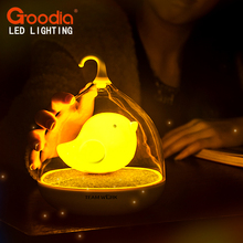 ECO-Friendly LED Night light sleep Lamp Touch Sensor Bird Light Children's Toys Birthday Gifts(China (Mainland))