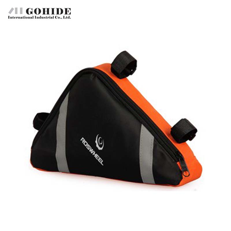 Gohide Waterproof Bicycle Cycling Bike Bag Front Frame PVC Tube Accessories Multifunctional Tool Frame Saddle Bag(China (Mainland))
