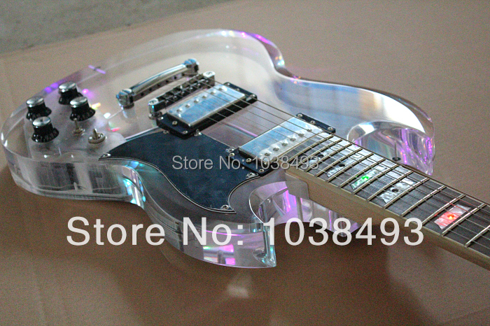 The best organic glass factory producing all kinds of high-grade LED electric guitar leds acrylic order send EMS free shipping(China (Mainland))