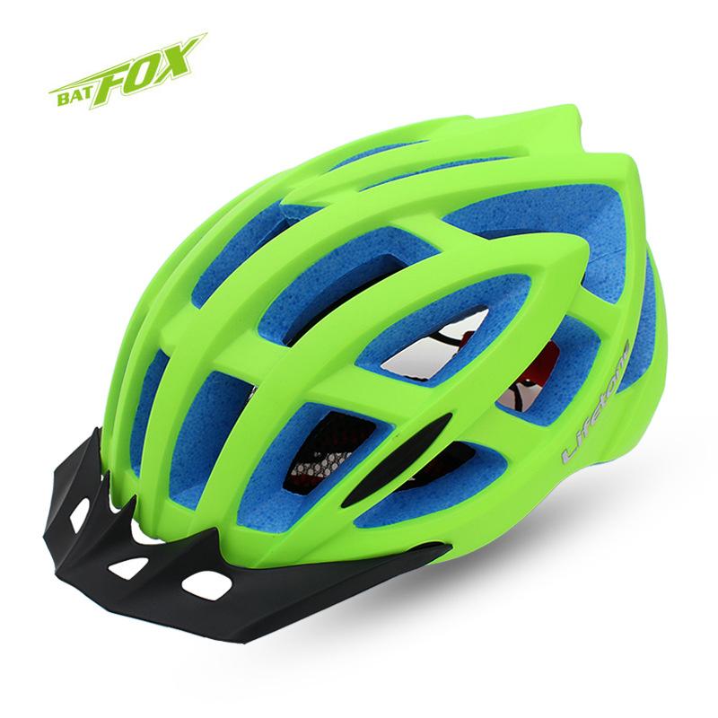 BATFOX Unisex Professionals Road Cycling Helmet MTB Import EPS+PVC Bike Helmet 24 holds Ultralight Camouflage Bicycle Helmet(China (Mainland))