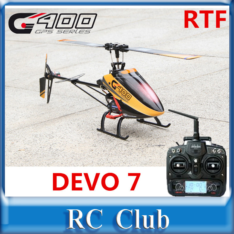Walkera G400 GPS 3D Flybarless 6CH RC Helicopter  with DEVO 7 Transmitter RTF(China (Mainland))