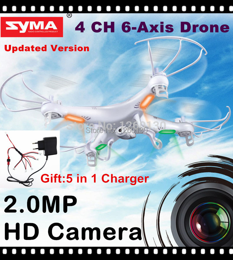 RC Drone With HD Camera SYMA X5C-1 (X5C Upgraded Version) 2.4G 4CH 6-Axis RC Helicopter Quadcopter Ar.Drone or X5 without Camera(China (Mainland))