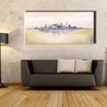 Large size building city large Abstract wall art canvas handmade oil painting on canvas bedroom living