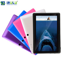 IRULU eXpro 7″ Tablet PC Android 4.4.2 Quad Core Real 1024*600 HD 16GB Dual Camera 2.0MP Support 3G WIFI With 5 Colors Case