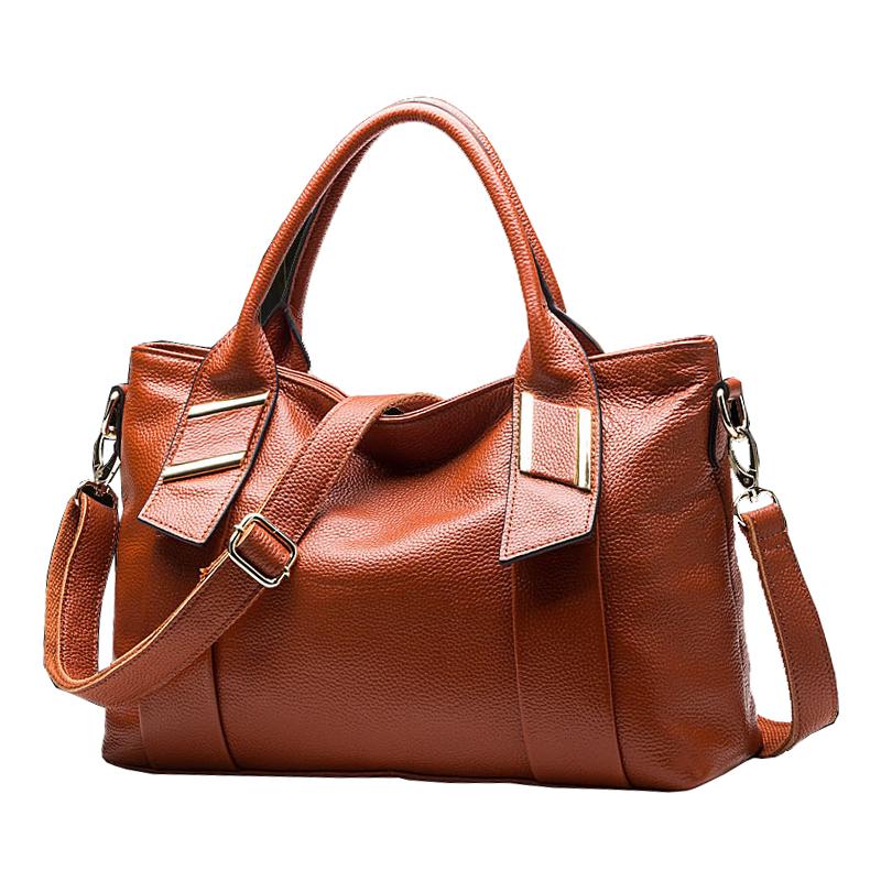 2015 New women's bags Fashion handbags made of genuine leather women Bag ladies messenger Shoulder bags bolsa feminina(China (Mainland))