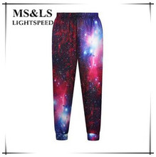 Hip Hop Pants Women Selling  Chiffon Elastic Waist  Pants Star interstellar  Exercise Casual Pants Women's Hip Hop Pants Women