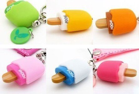 flash strap Lovely DianShan phones to ice cream j8740 candy color MOGI mobile chain is hanged adorn
