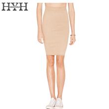 Buy HYH HAOYIHUI Knitted Mini Skirts Women High Waist Slim Female Pencil Skirts Brief Elegant OL Solid Khaki Skirts Ladies for $10.29 in AliExpress store