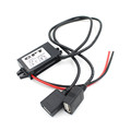 Top Quality Car Boat Motorcycle Dual USB Charger DC 12V To 5V 3A Power Adapter Supply