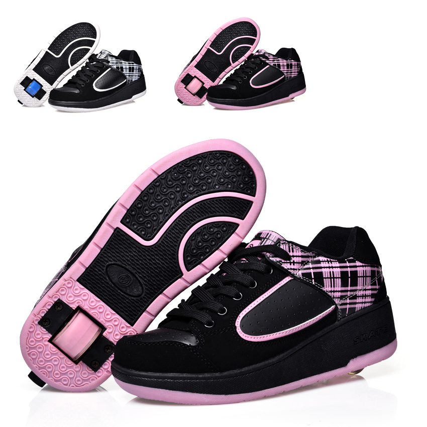 child heelys jazzy junior girls boys heelys rollerskate shoes for children kids sneakers wheel. Black Bedroom Furniture Sets. Home Design Ideas