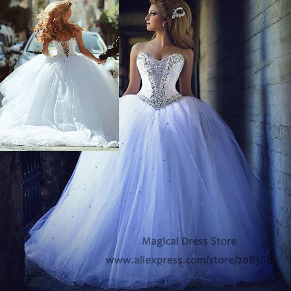 Turmec » bling ball gown wedding dresses