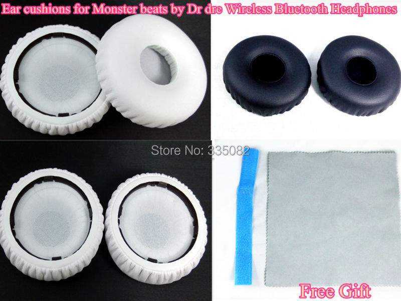 Replacement ear cups cushions for Monster beats by Dr dre Wireless Bluetooth Headphones(China (Mainland))