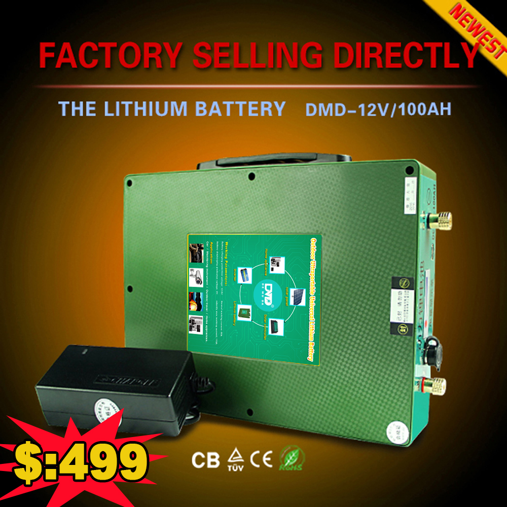 High efficiency Quick charge Long discharge rechargeable dry cell pack car battery 12v 100ah free shipping(China (Mainland))