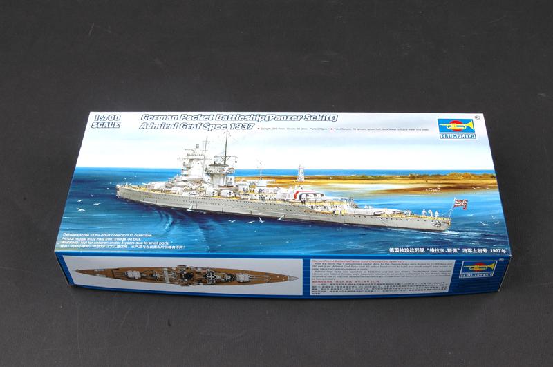 1:700 Germany Graf. Spey Admiral number, pocket Battleship Assembled Model Free shipping(China (Mainland))