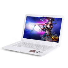 14 inch Laptop Computer Notebook Windows 7/8 Intel J1800 Dual Core 4G RAM 320G HDD Wifi HDMI Camera Laptops with Free Shipping