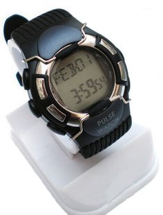 8pcs free shipping Sport Heart Pulse Rate Calorie Counter Watch+Monitor