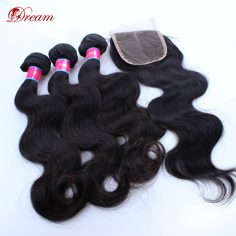2016 top selling 8inch to 30inch body wave virgin hair bundles with 4x4 free part middle part  three part lace closures in stock<br><br>Aliexpress