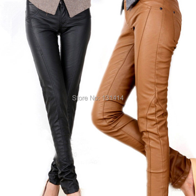 New Brown Leather Pants For Women 13 Trendy Leather Pants For Women 2016
