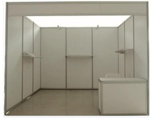 10x10ft  customized trade show booth exhibition standard stand with concultation desk(China (Mainland))