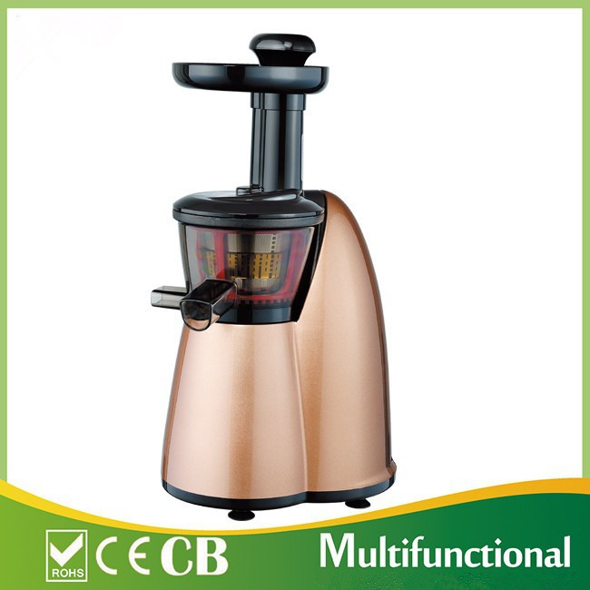 2015 best sale slow juicer on the market CE & RoHS juicer Gold Color Free Shipping(China (Mainland))
