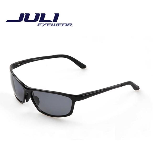 Мода лето поляризованные покрытие солнцезащитных очков сплава жк-поляроид очки женщин ...