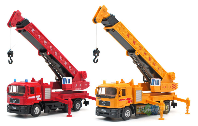 High Quality!! German Man Crane truck 1:40 Alloy Vehicles Toys Gifts Models Collection(China (Mainland))