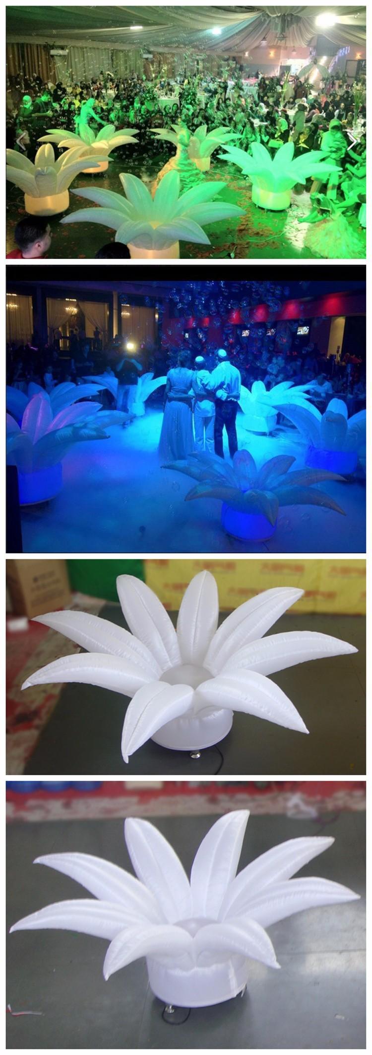 inflatable wedding flower