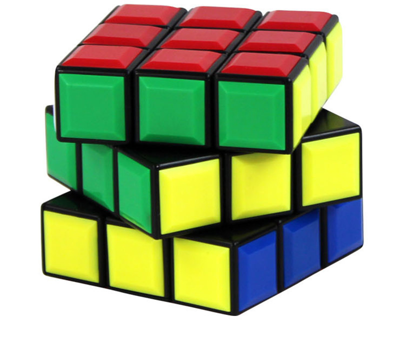 Hot Cool 3x3x3 57mm Puzzle Speed Cube Educational Toy Special Toys Magic Cube(China (Mainland))