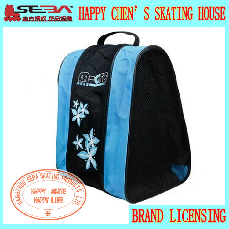 Professional Skating Bag SEBA Bag Good Quality Shoulder/Handle Roller Skating Bag Good Quality Athletic Products Camping Bag(China (Mainland))