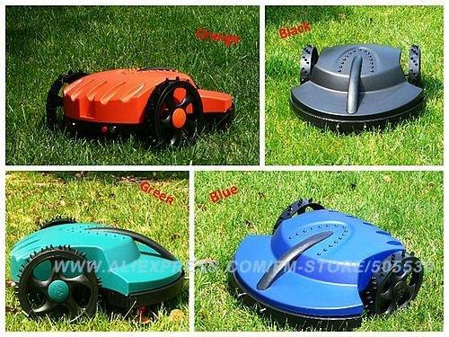 Robot auto lawn mower auto grass cutter, Lead-acid battery, auto recharge, intelligent grass cutter garden tool freeshipping