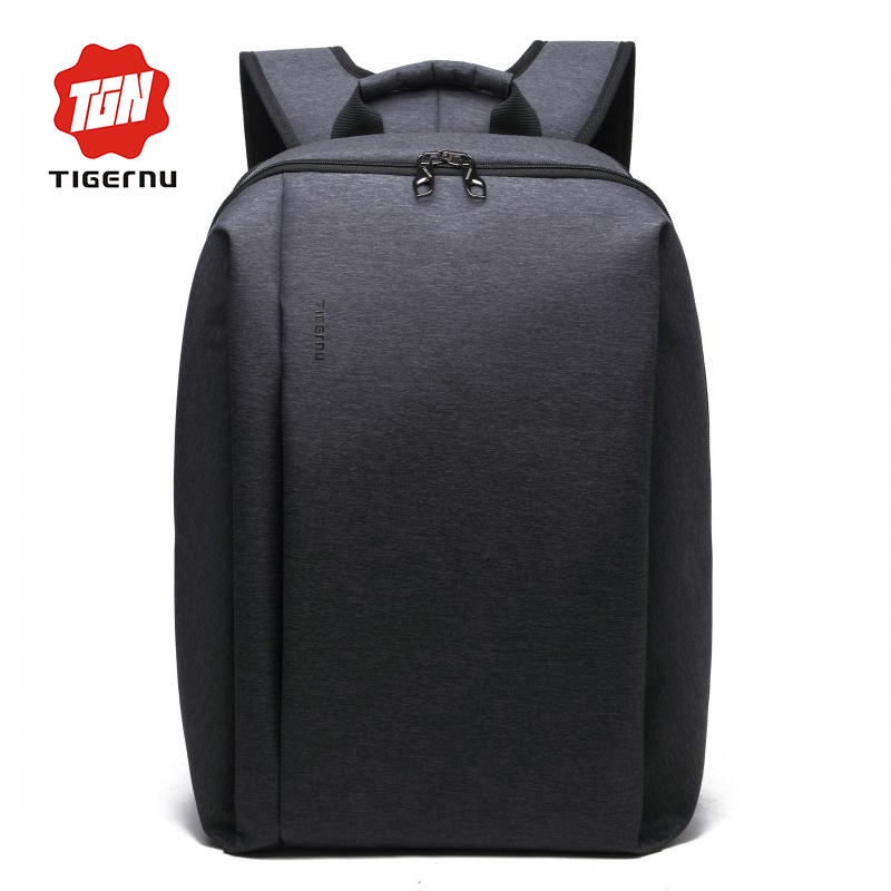 2016 Men's Backpack Black Nylon TIGERNU Waterproof Bag Backpack for Male Mochila 14.1 Inch Laptop Notebook Bag for Computer(China (Mainland))