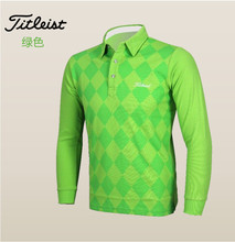 New arrivals fall winter golf shirt long sleeves golf apparel Polo golf clothes Men Golf Render clothing 6 colors(China (Mainland))