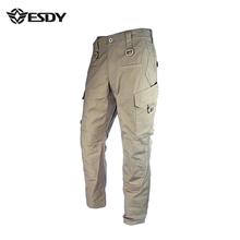 Outdoor Pant,ESDY Men Casual Cargo Pant Rangers Combat Trousers Multi Pocket Tactical Quick Dry Army Military Pantalones Hombre(China (Mainland))