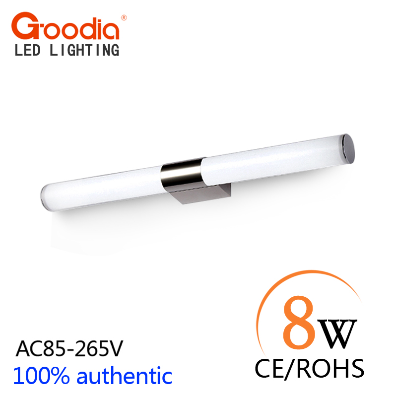 Newly Designed Modern 8W 40CM LED Bathroom Light Fixtures Mirror Wall light Indoor mirror-front Sconces lighting lamps<br><br>Aliexpress